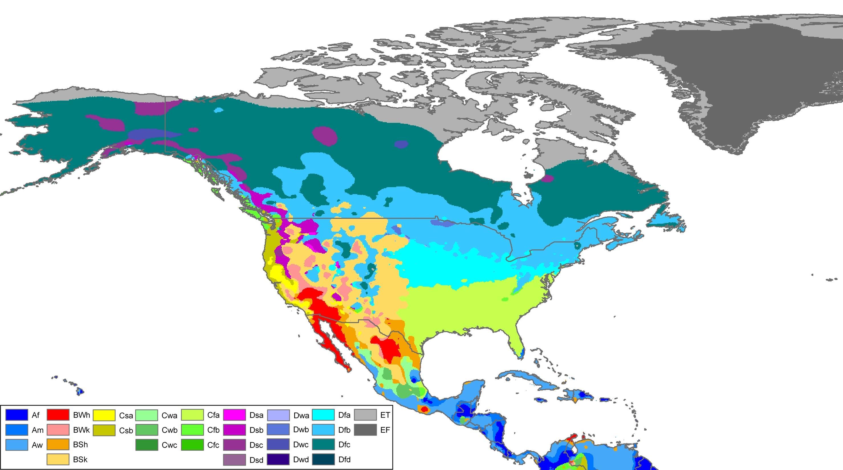 időjárás térkép Kanada időjárás, térkép   Kanada időjárás térkép (Észak Amerika  időjárás térkép