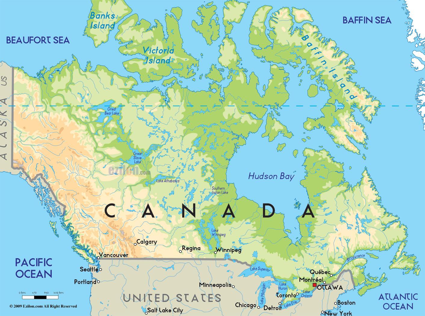 kanada térkép Kanada térkép   Kanada egy térkép (Észak Amerika   Amerika) kanada térkép