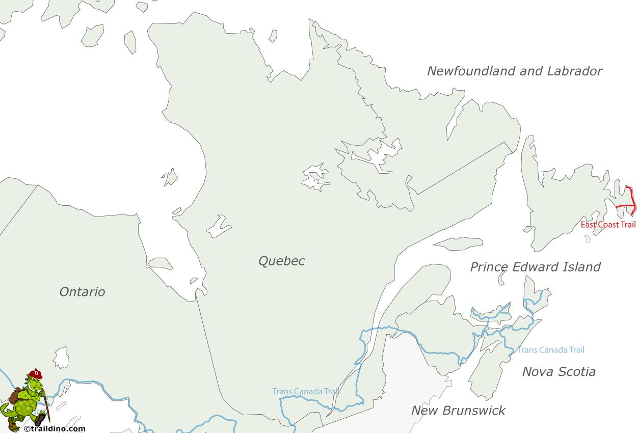 amerika keleti part térkép Keleti part Kanada térkép   Térkép keleti part Kanada (Észak  amerika keleti part térkép