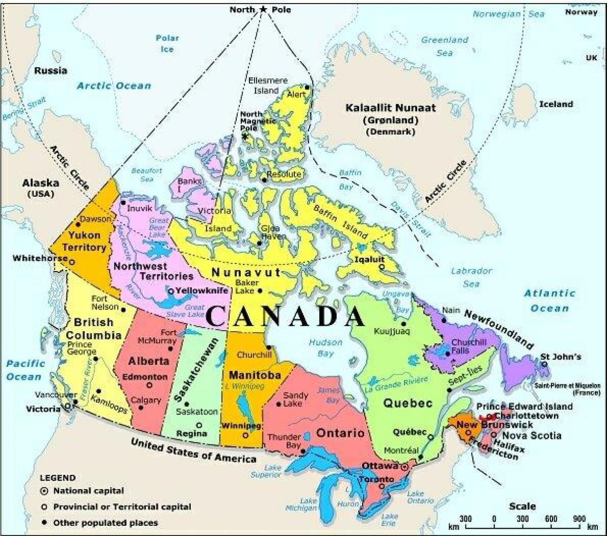 kanada térkép Nyugat Kanada térkép városok   Térkép nyugat Kanadai városok